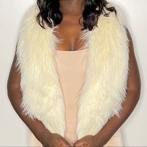 American  Eagles Outfitters Fur Vest